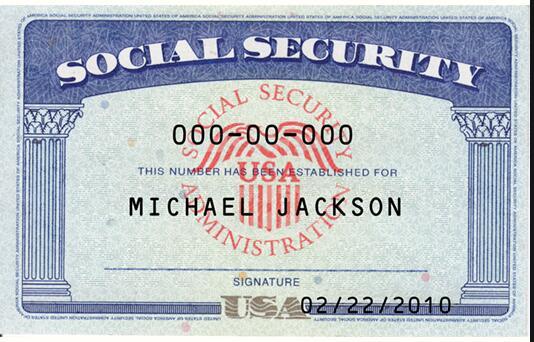 Sample 1-Social Security Number