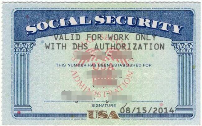 Sample 2-Social Security Number