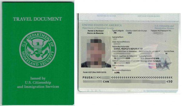 Re-entry Permit
