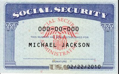 Sample 1-Social Security Number