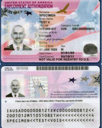 Work Permit (EAD)